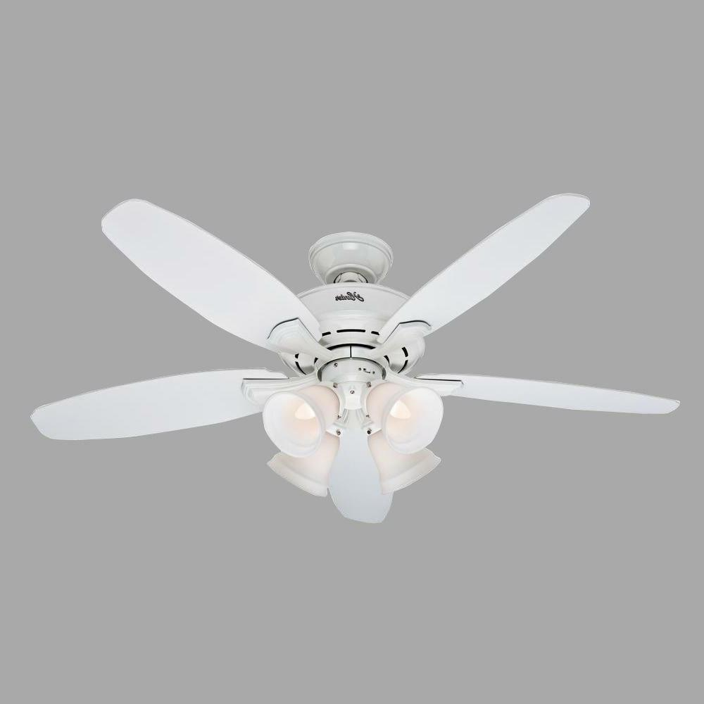 landry white ceiling fan