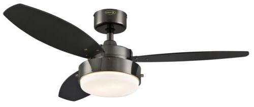 Lighting Alloy Two-Light 42-Inch Reversible Three-Blade Indo