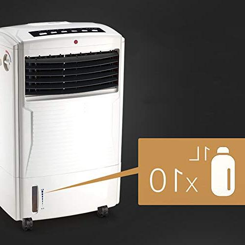 FAN MAZHONG Evaporative Humidifier and Functions, 3 Speeds Oscillation, 7.5 Timer and