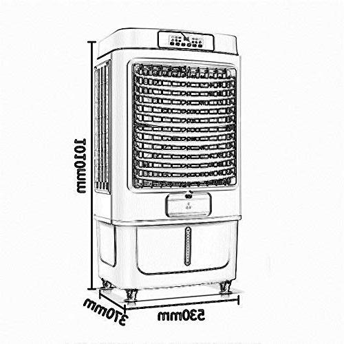 FAN Portable Conditioner, Conditioner Water-Cooled Air Dehumidifier Evaporative Air Cooler Home