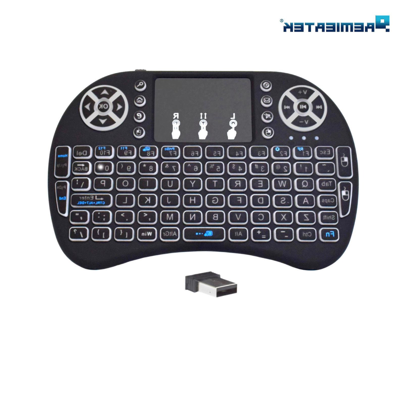 Mini Keyboard Remote for Raspberry LG Smart TV Android TV