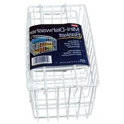 Mini-Dishwasher Basket in White