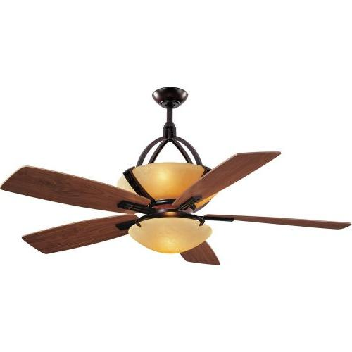Hampton Bay Miramar 60 in. Weathered Bronze Ceiling Fan