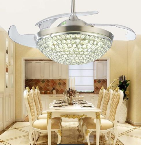 """Modern Invisible Ceiling Light 42"""" Chandelier"""
