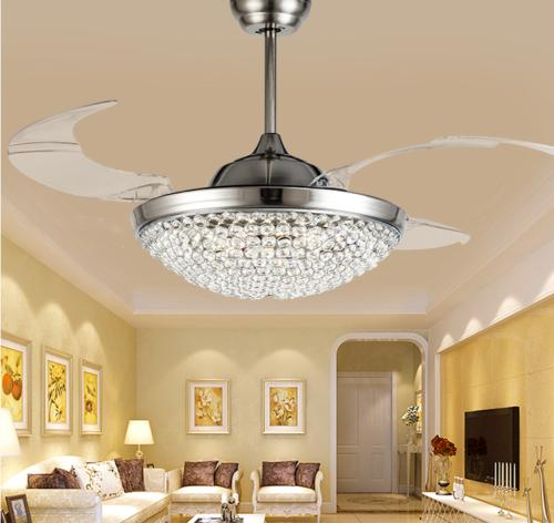 """Modern Invisible Ceiling Light 42"""" Chandelier Home Lamp"""