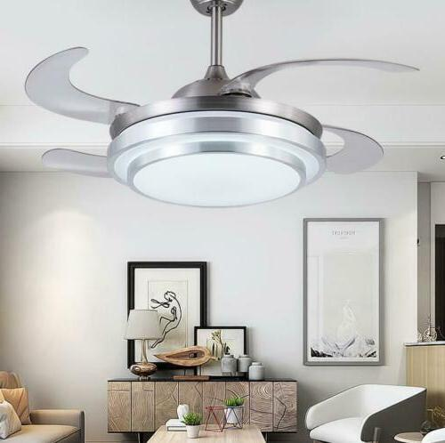 Modern Ceiling Fan Light LED Fixture