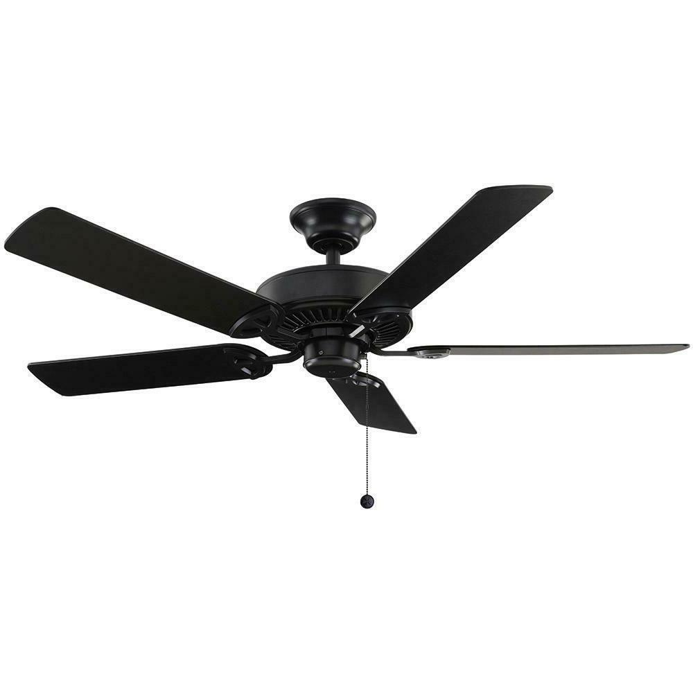 NEW - Farmington 52 in. Indoor Natural Iron Ceiling Fan - Re