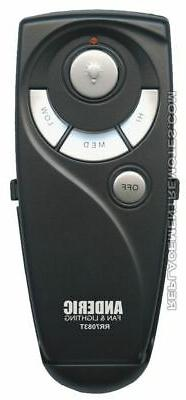 NEW ANDERIC Ceiling Fan Remote Control UC7083T for Hampton B
