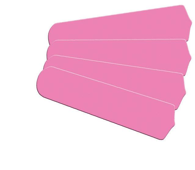 """New HOT PINK KIDS ROOM DECOR 42"""" Ceiling Fan BLADES ONLY"""