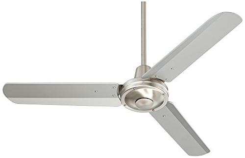 """44"""" Plaza Brushed Nickel Damp Rated"""