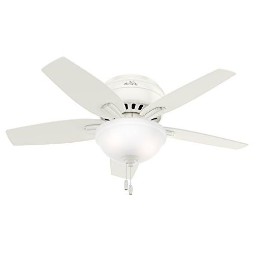 Hunter Fan Low Profile Fresh Frosted Kit, 5
