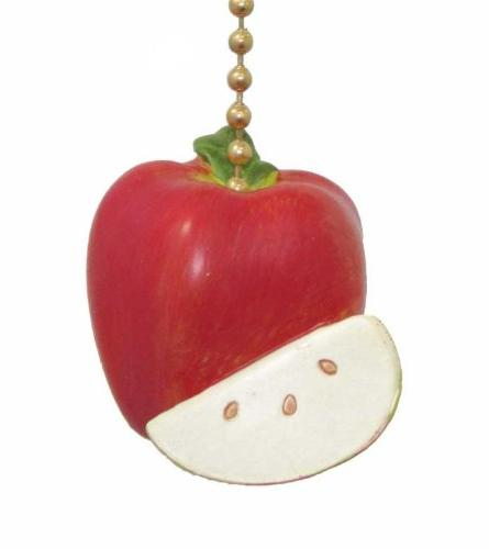 red delicious apple ceiling chain