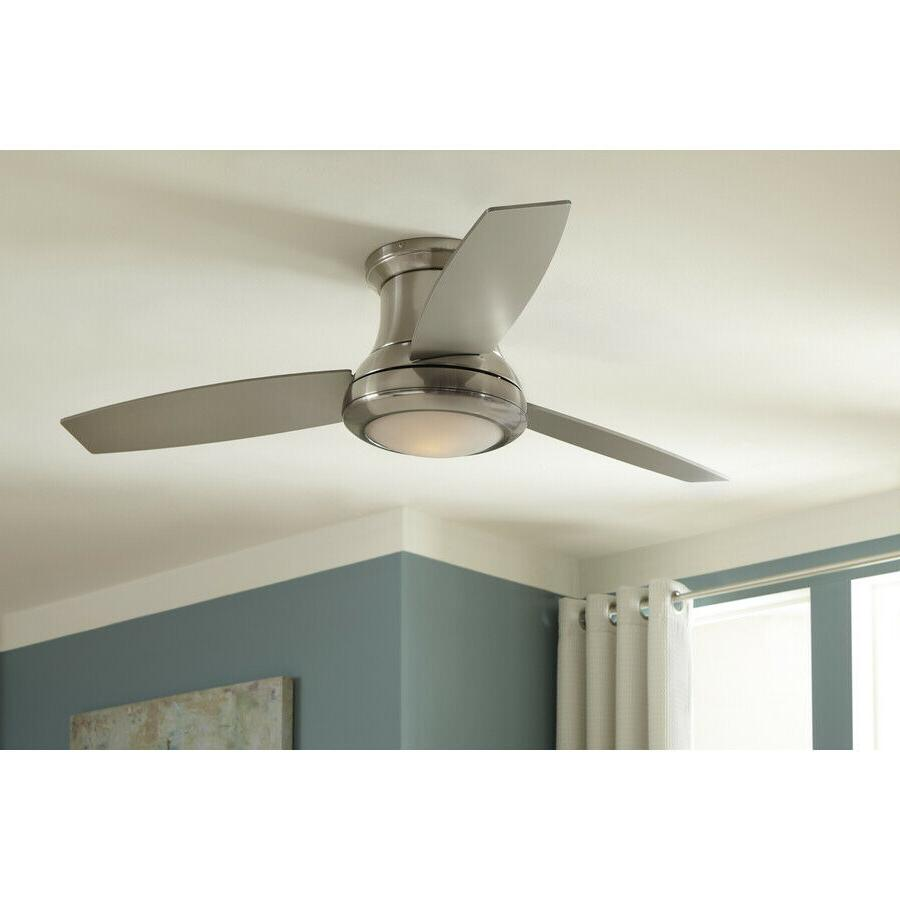 Harbor Breeze 52-in Nickel Mount Indoor