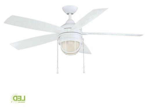 seaport 52 in led indoor outdoor white