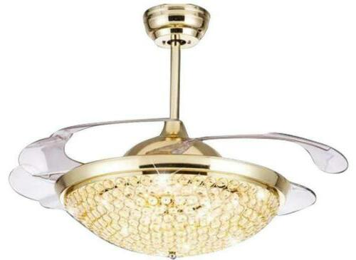 "Modern 42"" Invisible Light Remote Control Chandelier"