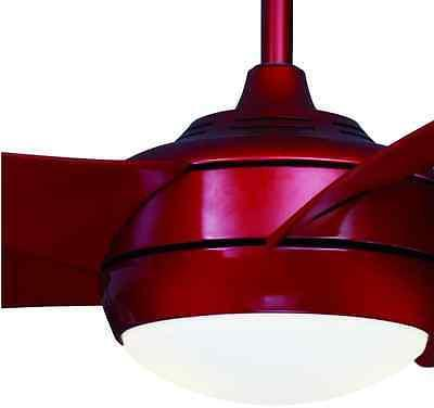 "Sleek 52"" Quiet Ceiling Fan Integrated Bowl Light + Remote C"