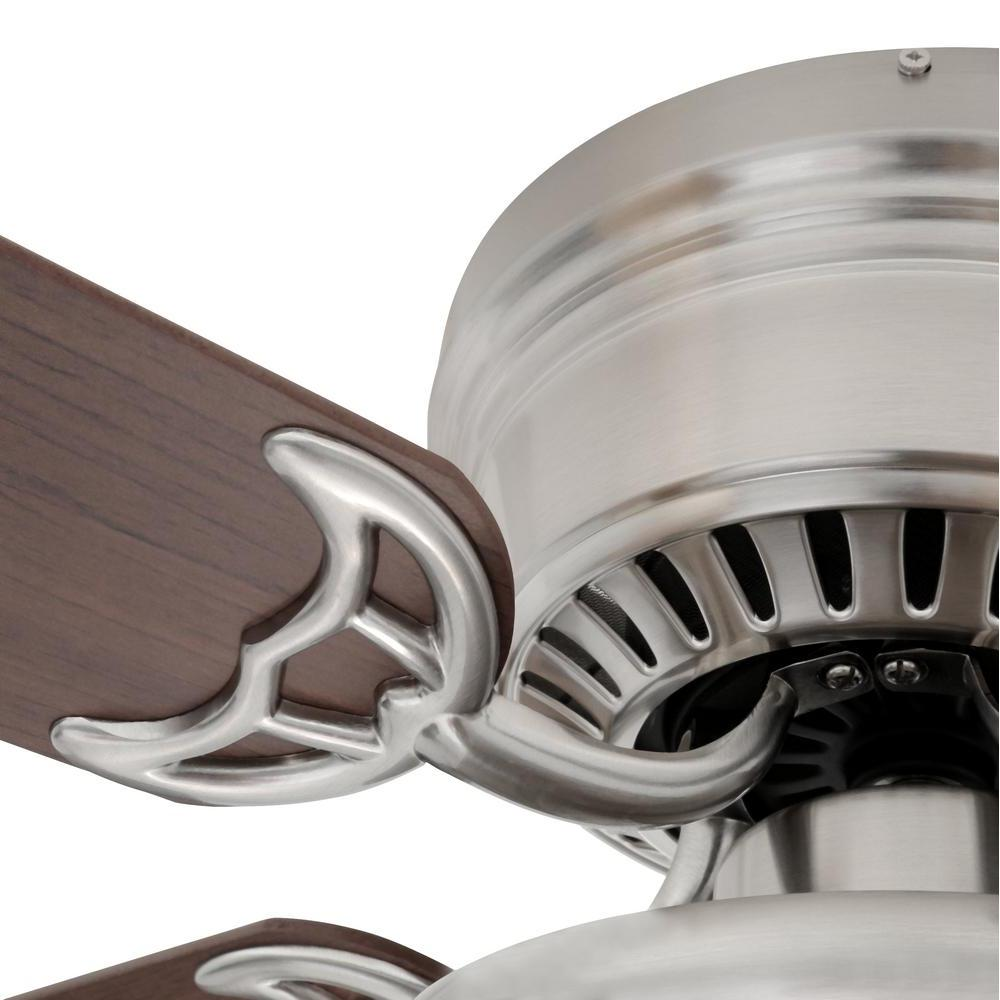 Hampton Southwind Fan 52 in LED Indoor Brushed Light
