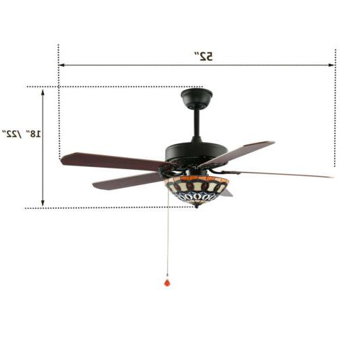 """52"""" Ceiling LED Remote Control 3 Style"""