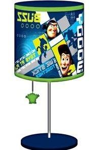 """Disney Toy Story Table Lamp - Buzz Lightyear & Woody - 16"""" T"""