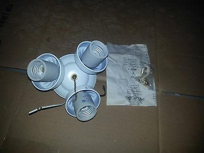 Universal Ceiling Fan Light Fitter  1,2 and 3 lamp various s