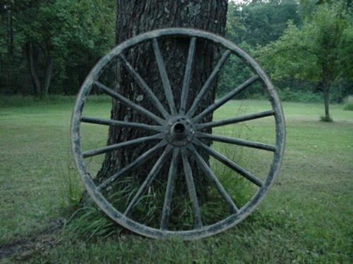 used country collectible authentic wagon