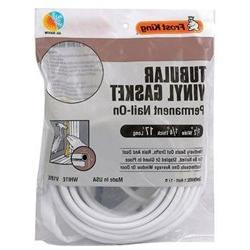 FROST KING V18WH Weatherstrip,17 ft, White