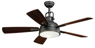 Walton 52 Ceiling Fan Gold Stone