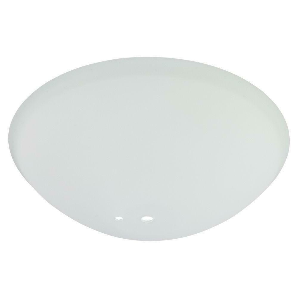 White Ceiling Replacement Frosted Glass Bowl