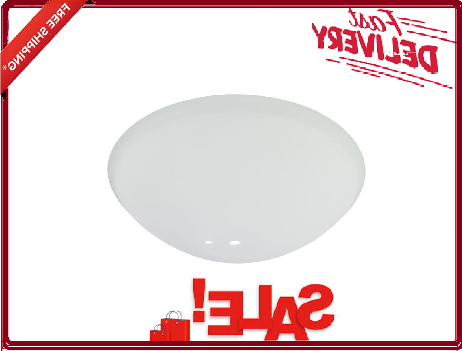 white ceiling fan 14921 replacement light shade
