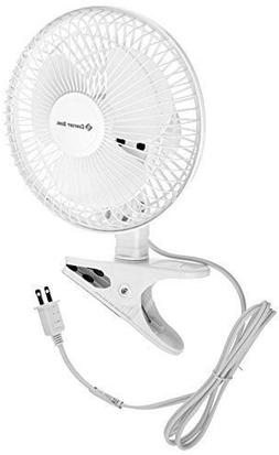 "6"" Mini Fan Small Compact Portable Desk Table Clip Electric"