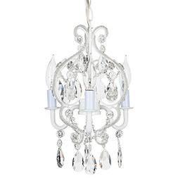 'Tiffany Collection' Mini Crystal Swag Chandelier Lighting w