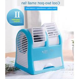 Mini Mute USB Air Conditioning Fan Air Conditioner with 3 Fa