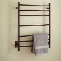 Naiture Stainless Steel Hard-Wired Towel Warmer in Oil Rubbe