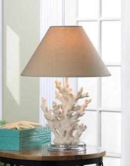 Nautical Themed Coral Mood Desk Lamp Shade Craftsman Table L