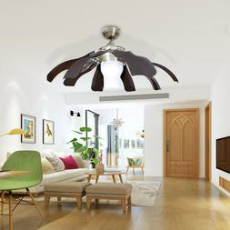 NEW Home Decor Ceiling Fan Modern Style w/ Remote Cool & War