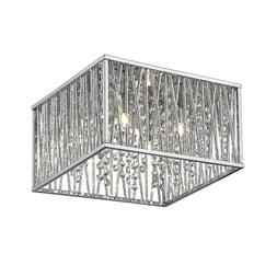 NEW!! HOME DECORATORS Sophia Collection 16 in. 4-Light Chrom