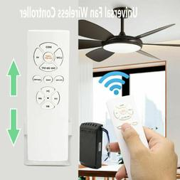 Universal Ceiling Fan Lamp Light Timing Wireless Remote Cont