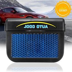 Newest Solar Energy Car Auto Cool Air Vent With Rubber Strip