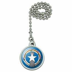 Northern Mariana Islands US Territory Flag Ceiling Fan and L