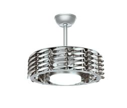 Oceano Bladeless Ceiling Fan with Dimmable LED Light