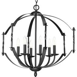 Progress Lighting P4711-31 Greyson 6 Light Chandelier by HI-