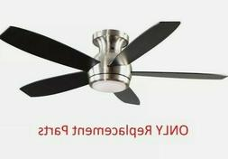 """GE Treviso 52"""" Brushed Nickel Ceiling Fan - PARTS ONLY"""