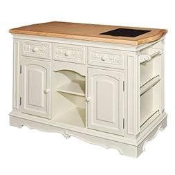 """Powell Pennfield Collection D1030D16WI 56"""" Kitchen Island wi"""