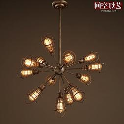 Quietness @ The Pipes Personality Creative Iron Chandelier