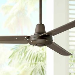 """44"""" Plaza Oil-Rubbed Bronze Damp Rated Ceiling Fan"""