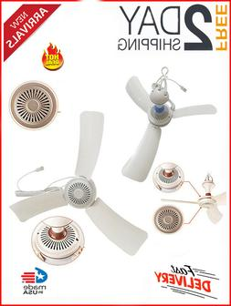 Portable Ceiling Fan Mini USB Tent Fans for Camping Outdoor
