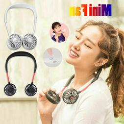Portable Mini USB Rechargeable Neckband Lazy Neck Hanging St