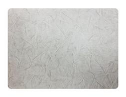 Pressed Leaves Rectangle Vinyl Placemat, Set of 4