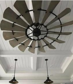 "Quorum 72"" Windmill Indoor Ceiling Fan; MAKE AN OFFER!!"