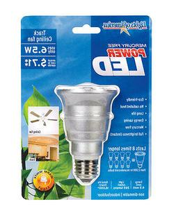 Lights of America LED R-20 Ceiling Fan Light Bulb 6.5w LED T